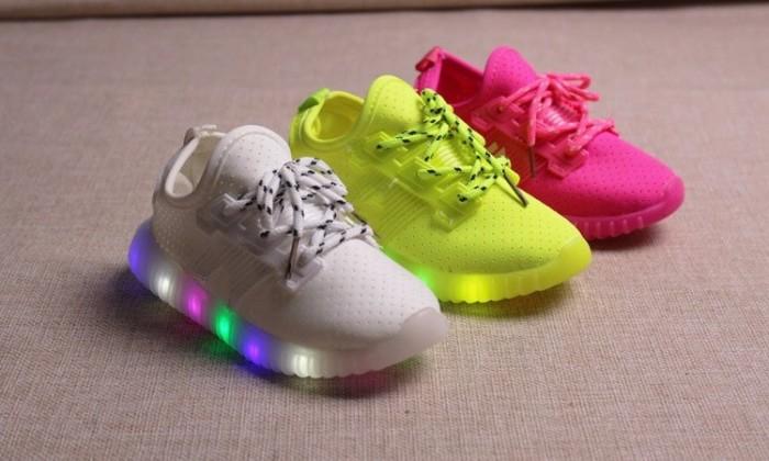 Jual Sepatu Anak Lampu LED Adidas Tali (Size 26-30) - Alivia Baby ... f509bee5c8