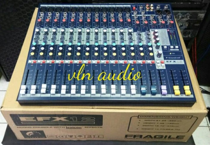 harga Mixer soundcraft efx 12 ch Tokopedia.com