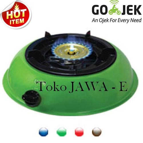 harga Hock mutiara silver 100mv kompor gas 1tungku burner kuningan - hijau Tokopedia.com