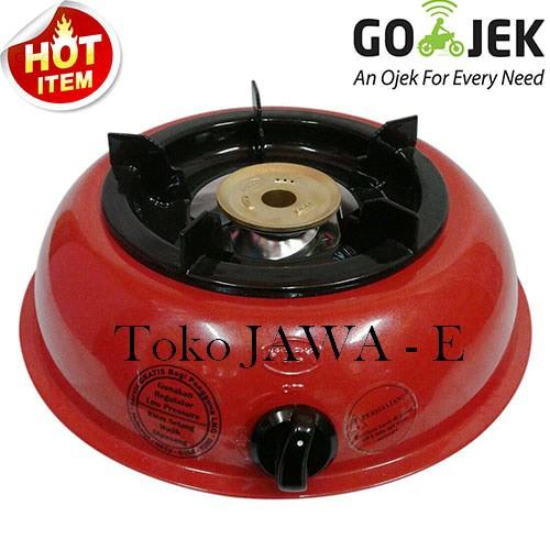 harga Hock mutiara silver 100mv kompor gas 1tungku burner kuningan - merah Tokopedia.com