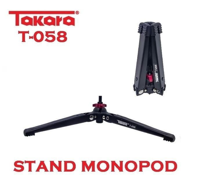 stand monopod TAKARA T058 KAKI TIGA MONOPOD 3/8