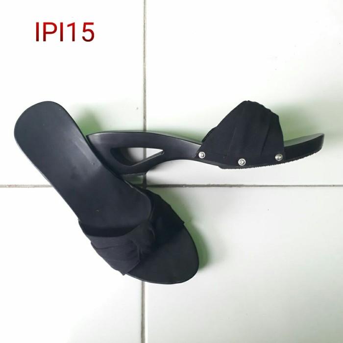 harga Ipi15 kelom geulis sandal kelom special black sandal wanita Tokopedia.com