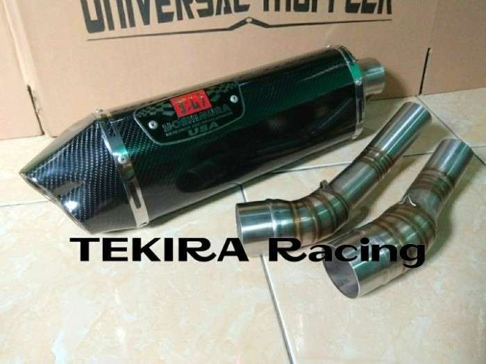 harga Knalpot yoshimura r77 lubang2 carbon slip on all new cb150r cb 150r se Tokopedia.com