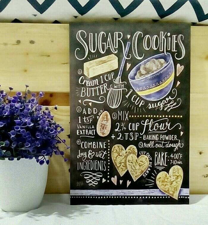 harga Hiasan dinding lukisan stiker vinyl doff sugar cookies Tokopedia.com