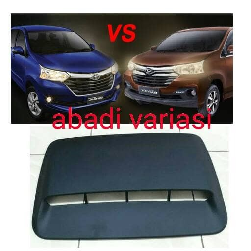 harga Air flow kap mesin dop hitam all new/grand avanza/great xenia/velos Tokopedia.com