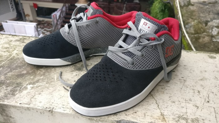Jual Original Sepatu DC Shoes Nyjah Huston N2 S Dark Shadow Shoe ... 1889578073