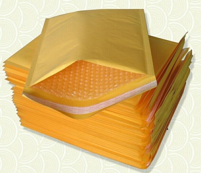 amplop bubble wrap | kraft bubble envelope | 11x13cm |