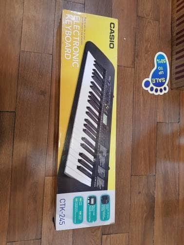 harga Ctk245 alat music ctk-245 keyboard casio harga cuci gudang Tokopedia.com