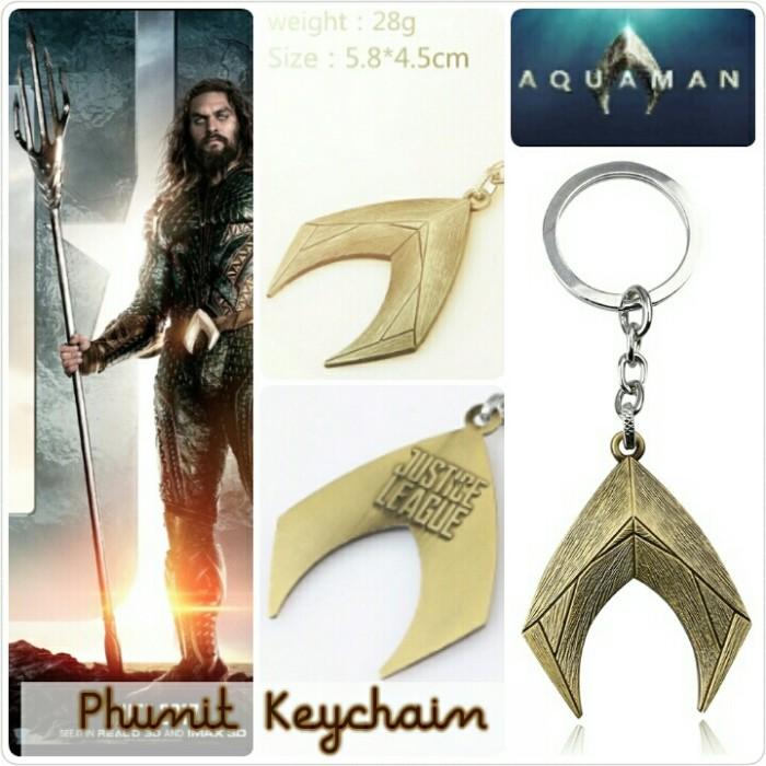 harga Gantungan kunci aquaman logo justice league the movie Tokopedia.com
