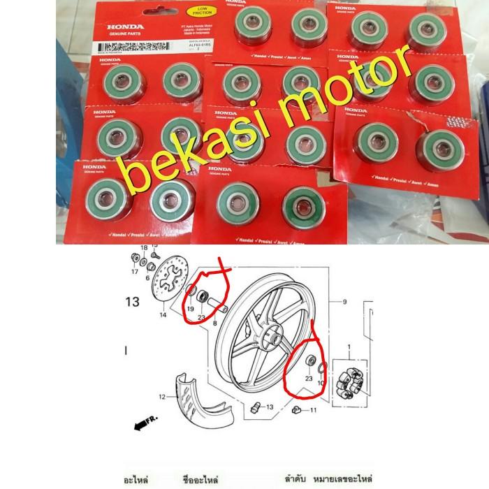 harga Laher bearing roda belakang honda cbr 150 karbu gtr original sepasang Tokopedia.com