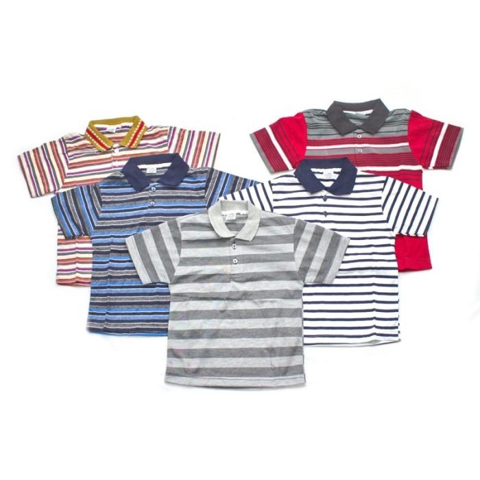 Foto Produk BAJUYULI - Kaos Anak Murah Harga Grosir Salur Kerah 5-6 Tahun PAS-XL dari Bajuyuli