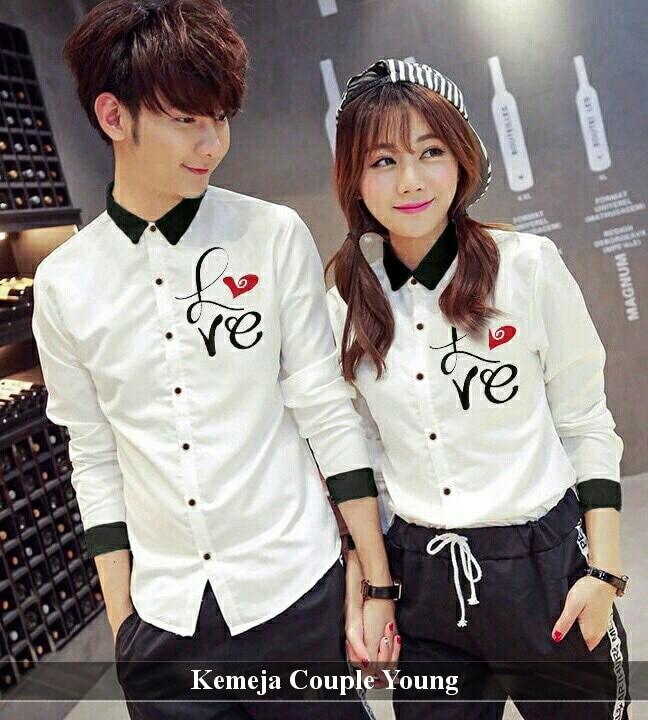 Foto Produk kemeja pasangan   kemeja terlengkap   kemeja keren   kemeja young cp dari koleksi baju couple