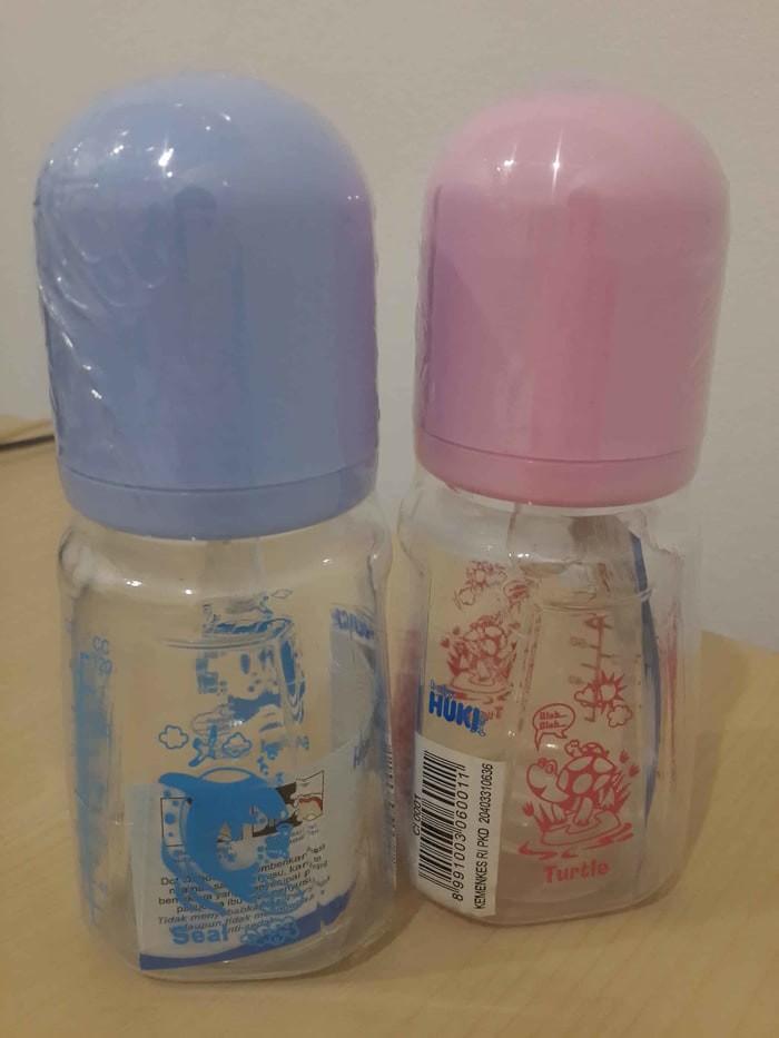 harga Botol susu bayi baby huki tapered 4oz 120 ml Tokopedia.com