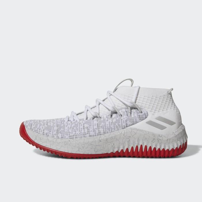 Jual Sepatu Basket Adidas Damian Lillard Dame 4 White Red Original CQ0471 -  Ncr Sport - OS  e6caa4da1121