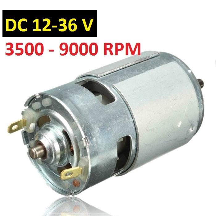 Jual Dinamo 775 Motor DC 12v-36v 3500-9000 RPM Large Torque  DM39 ... 1deb67ee8e