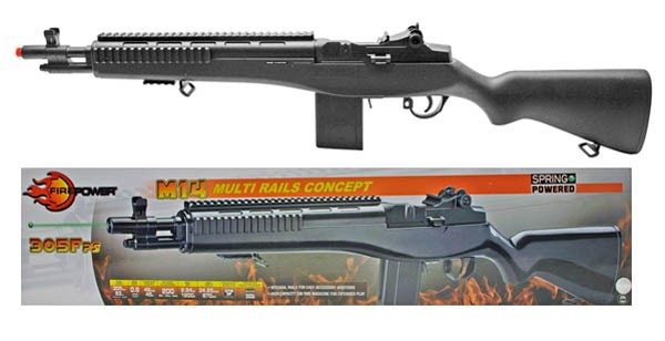 M14 socom firepower spring rifle air cocking
