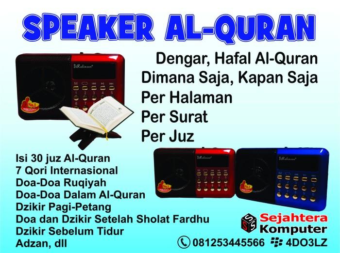 Info Speaker Quran Hargano.com