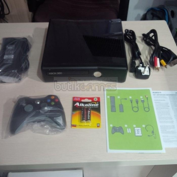 Jual XBOX 360 SLIM 250GB 250 RGH full Game Berkualitas - DKI Jakarta - Taka  Tiki Shop | Tokopedia