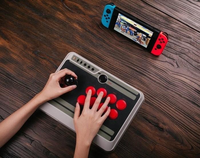 Jual 8bitdo NES30 N30 Arcade Stick Joystick Stik Joy Stick Berkualitas -  DKI Jakarta - Taka Tiki Shop | Tokopedia