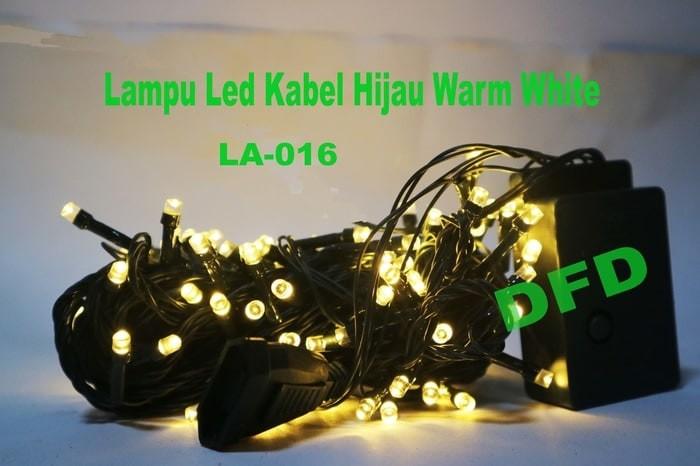 Lampu natal hiasan pohon warm white led 016 premium