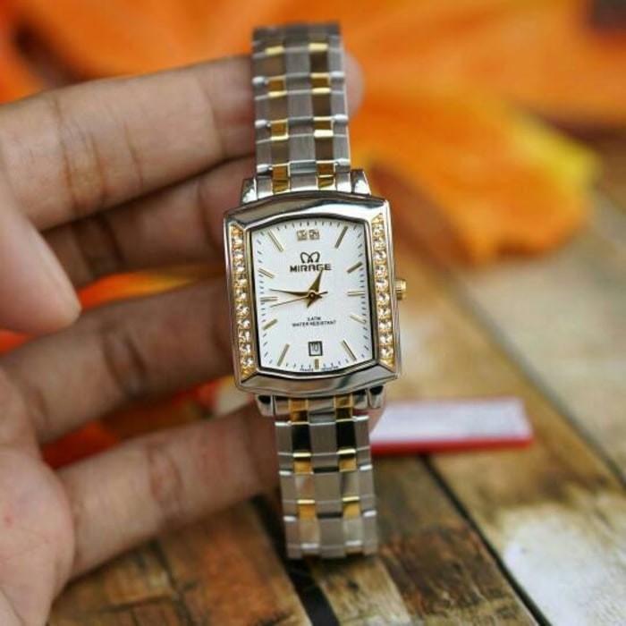 Jual (Dijamin) Jam tangan mirage original For Ladies GD1554 - Silver ... debc89d910
