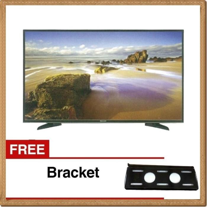 Free Bracket Led TV Panasonic 32 Inch TH 32E305G USB Movie