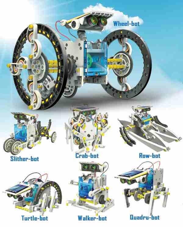 harga Mainan edukasi solar robot kit 14 in 1 / educational solar toy 14in1 Tokopedia.com