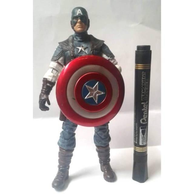 harga Sale Mainan action figure Marvel Captain america Detail bagus Murah me Tokopedia.com