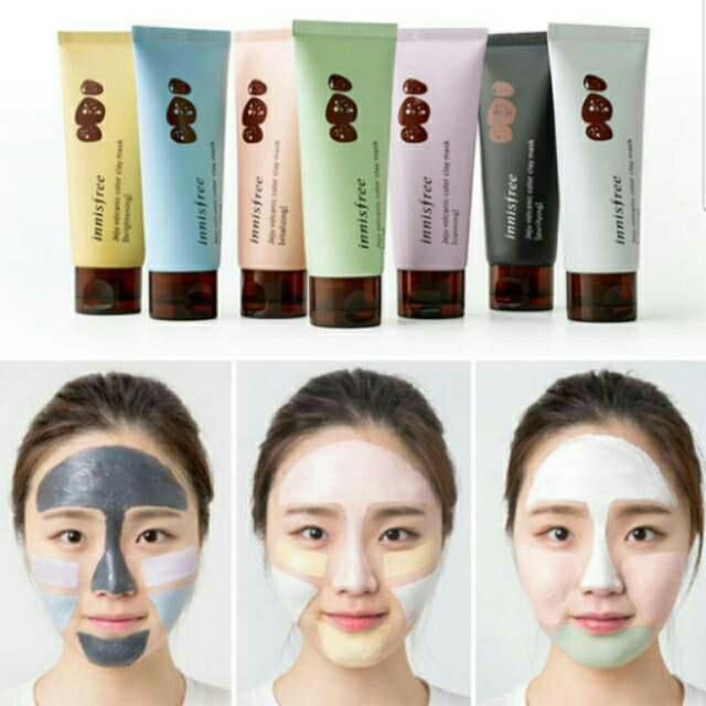 Herstyle - innisfree jeju vulcanic clay mask 70ml [original product]