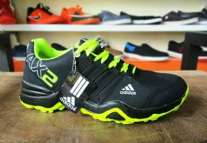 Sepatu Adidas Ax2 Hitam Hijau 4