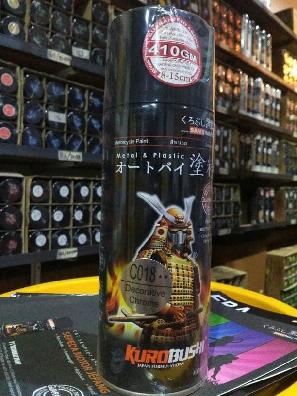 Jual Cat Samurai Decorative crome/CO18 - Kota Balikpapan