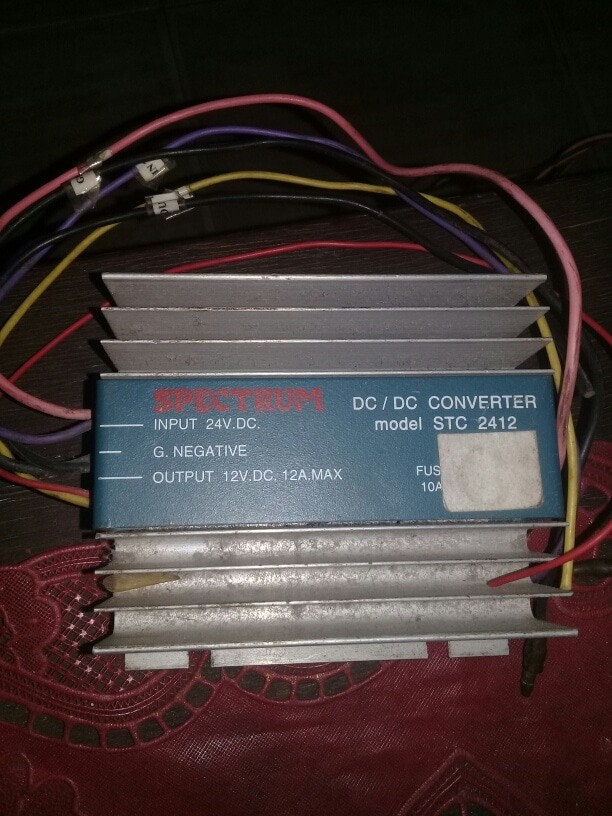 Foto Produk Converter step down car 24 V to 12 V dari ATJM