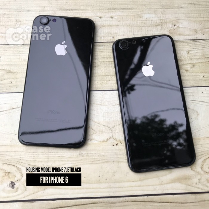 Jual housing model iphone 7 Jetblack iphone 6 - case-corner  41fa0e8b45