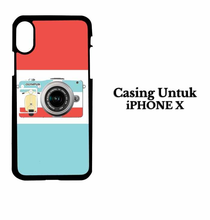Casing IPHONE X i love my camera Custom Hardcase Cover