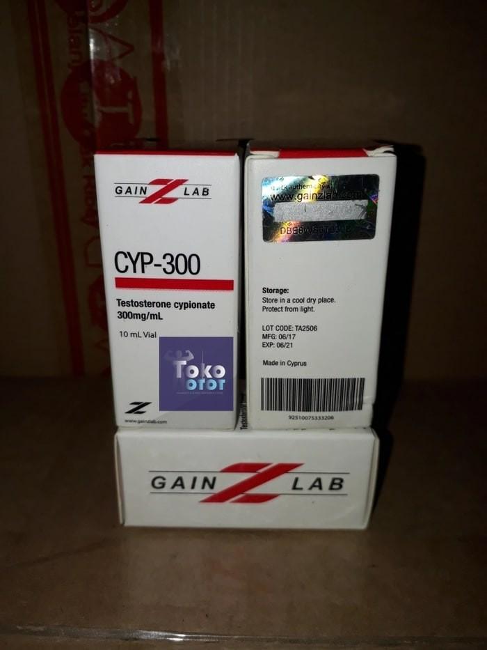 Jual Promo Cyp-300 Testosterone Cypionate 300mg T Cyp Test Cyp Gainz Lab G  - DKI Jakarta - Toko Otots | Tokopedia