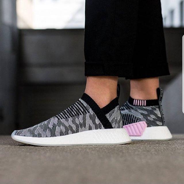 652ec50c7d4e6 Adidas Nmd CS2 Black Pink Premium Original   sepatu adidas   sneakers