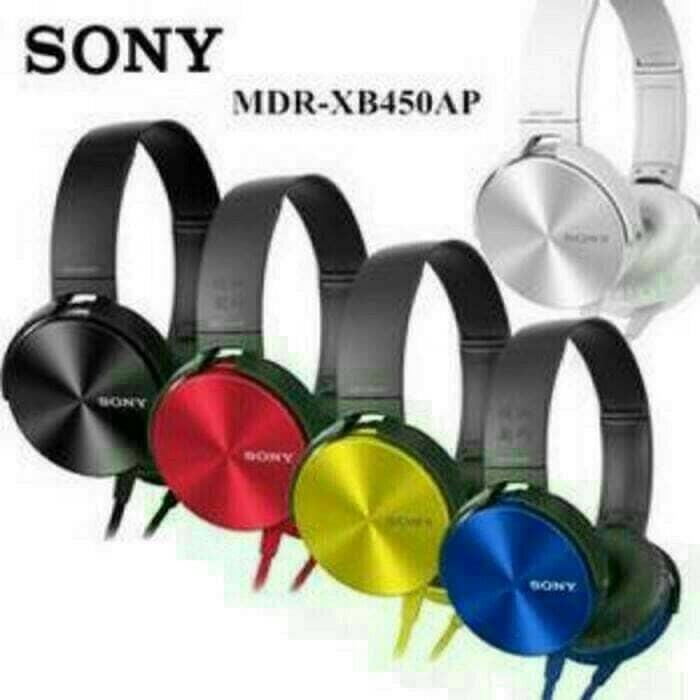 harga Headphone / headset bando sony mdr-xb450ap Tokopedia.com