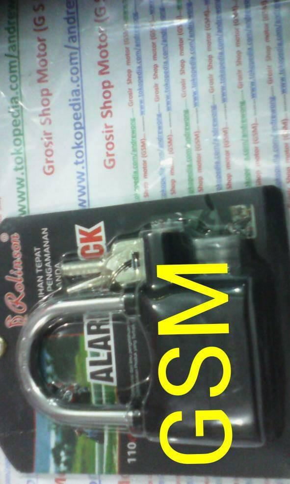 Katalog Gembok Alarm Travelbon.com
