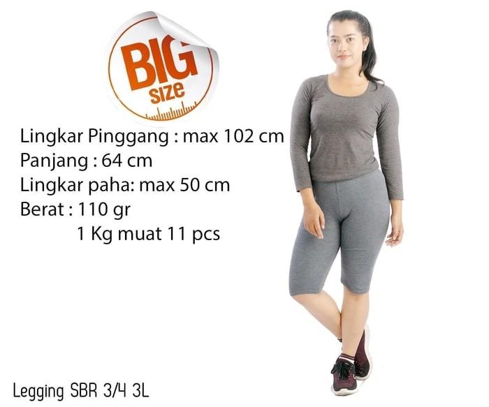 Jual Celana Legging Wanita 3 4 Celana Grosir Diskon Kab Kediri Joo Dress Shop Tokopedia