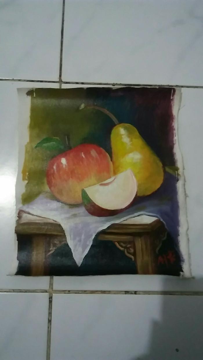 Jual Lukisan Buah Apel Pir Pear Kota Bekasi ID Gallery