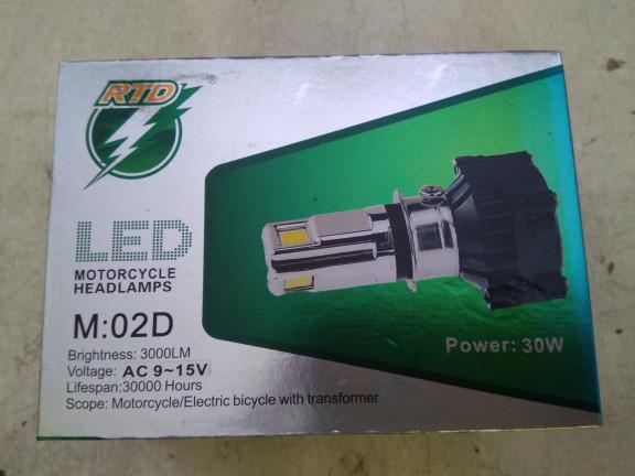 harga Aksesoris motor lampu led rtd ac dc Tokopedia.com