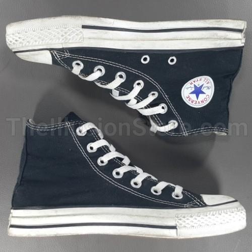 Sepatu Converse Chuck Taylor All Star Hitam Original Asli Second Bekas 81234d3f82