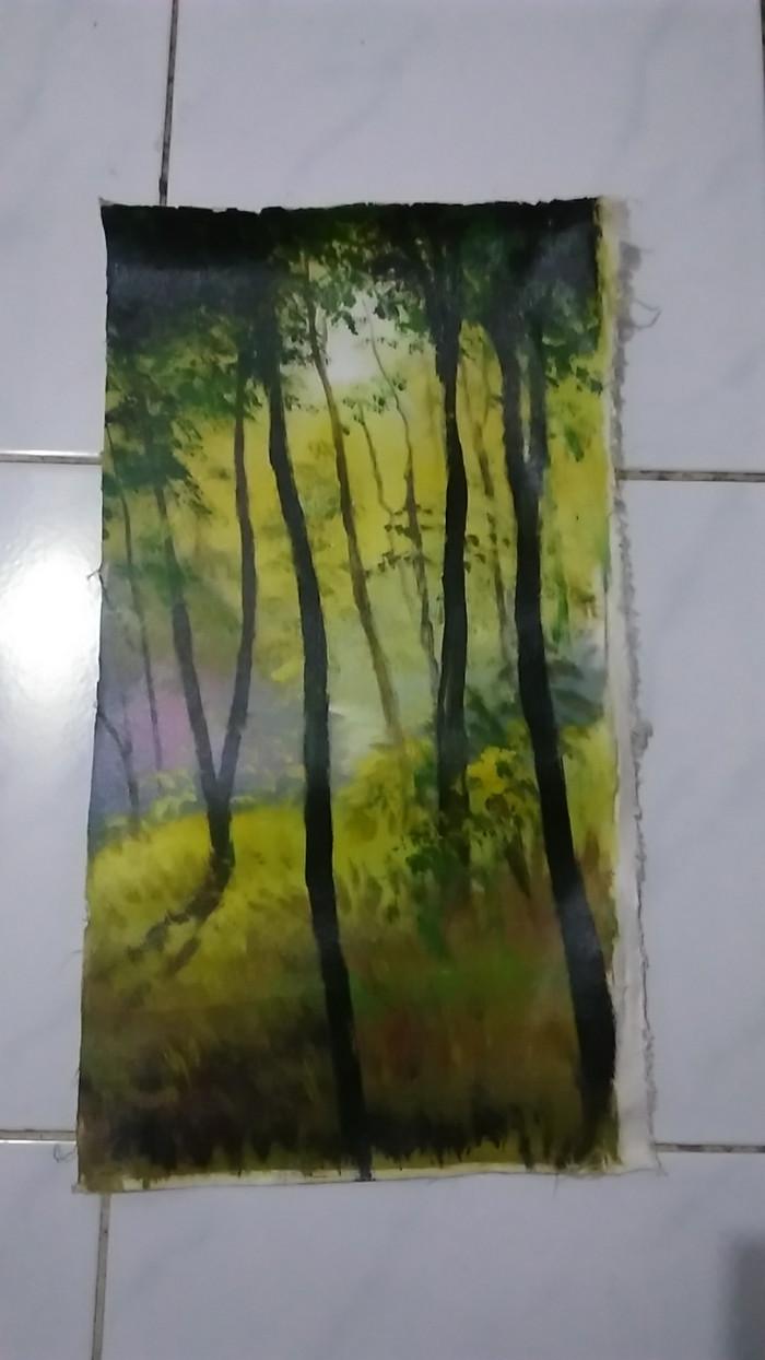 Jual Lukisan Hutan Kota Bekasi ID Gallery