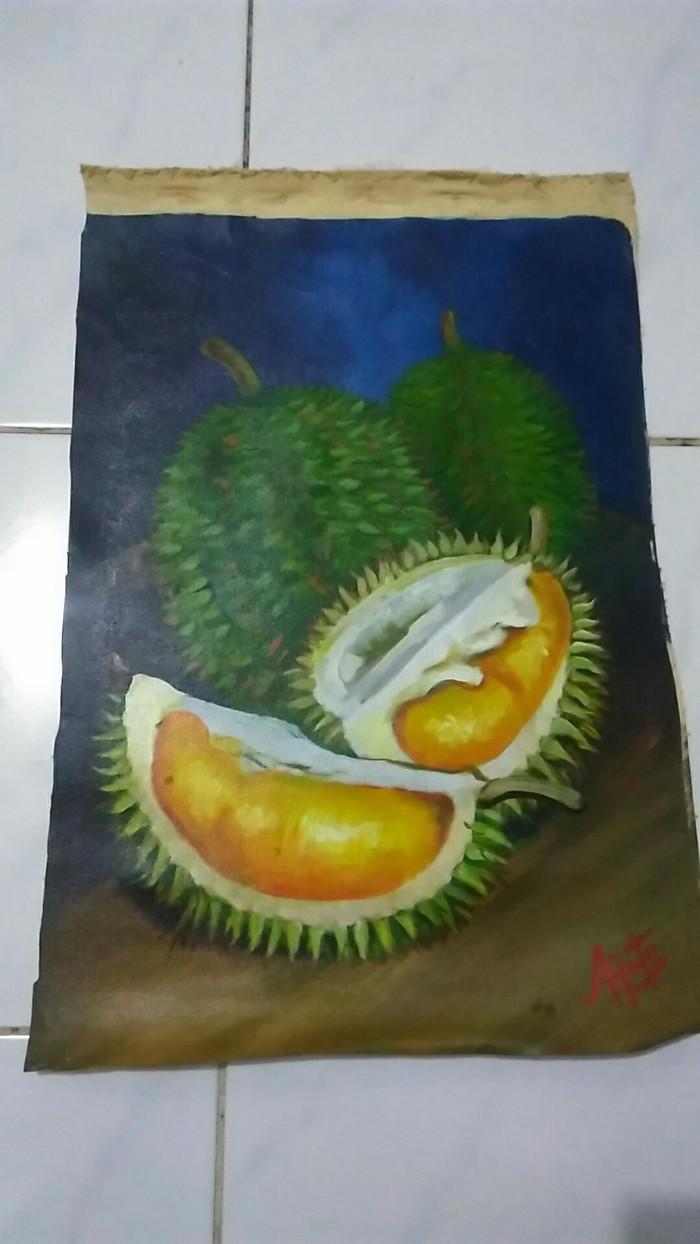 Jual Lukisan Buah Durian Duren Kota Bekasi ID Gallery