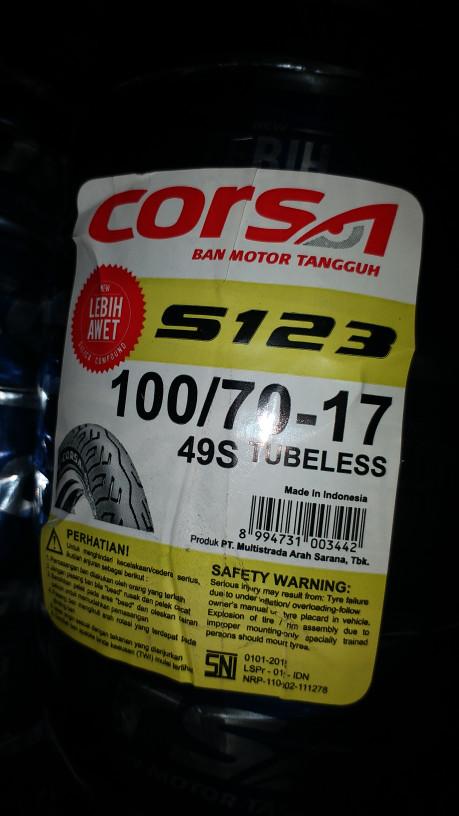 Harga Ban Corsa Travelbon.com