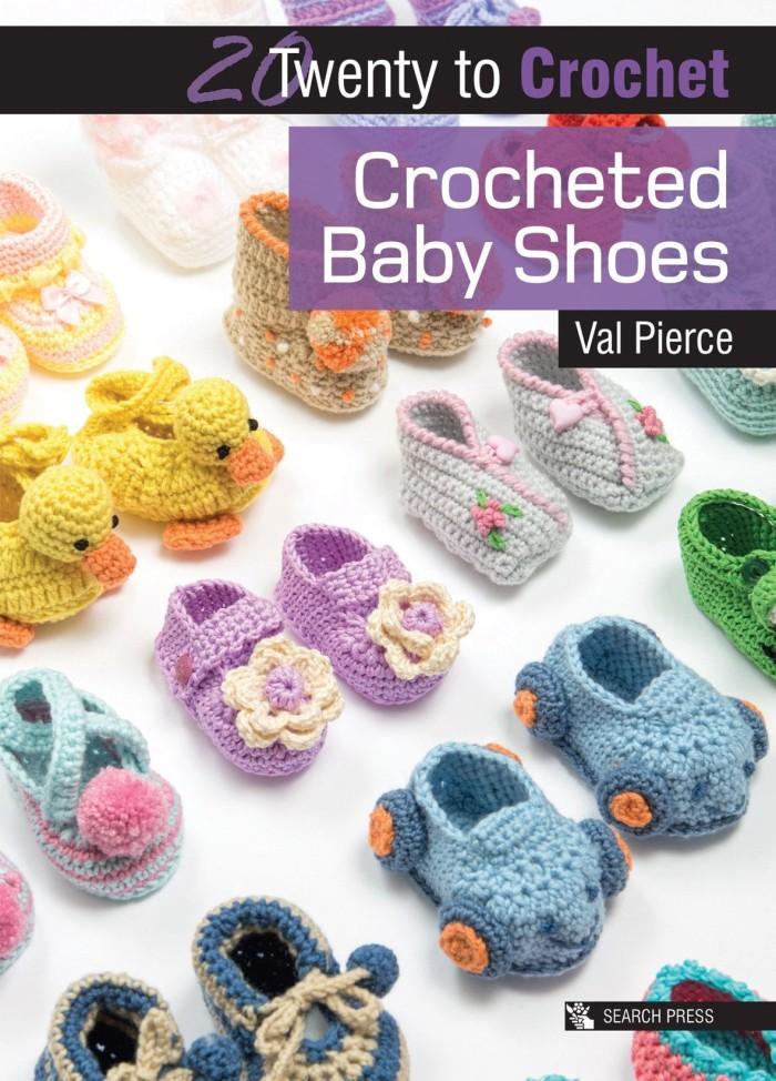 harga Crocheted baby shoes - buku crochet / rajut sepatu bayi Tokopedia.com