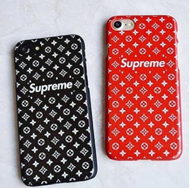 official photos a0b2d dca08 Jual soft case louis vuitton LV Supreme Red iphone 7 Plus Iphone 8 Iphone X  - Kota Tangerang - soulmategadget | Tokopedia