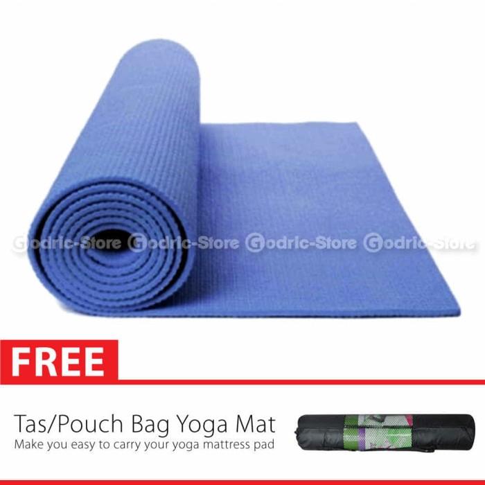 harga Matras yoga yoga mat include tas sarung 61cm x 173cm x 6mm Tokopedia.com