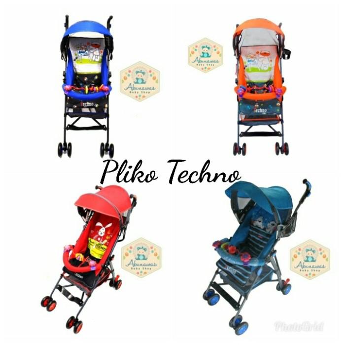 harga Kereta dorong bayi baby stroller pliko techno 107 Tokopedia.com