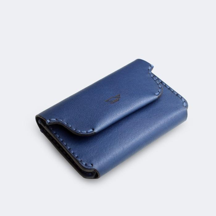 harga Duke - navy ( id name leather card holder  dompet kartu kulit pria ) Tokopedia.com